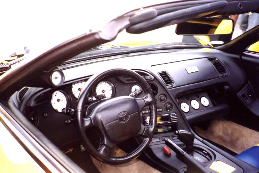 Toyota supra 2010 interior